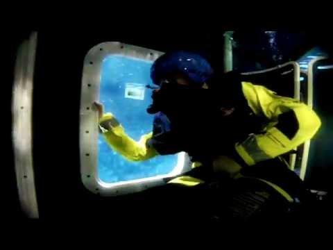 Survivex Offshore Survival BOSIET training Aberdeen, UK