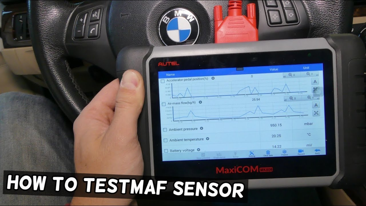 HOW TO KNOW IF MAF SENSOR IS BAD  MASS AIR FLOW SENSOR TEST