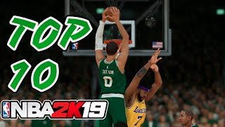 10 Best Dunkers In The NBA According To NBA 2K19