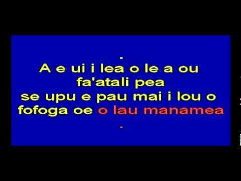 Samoa Karaoke Taute lou Au-Tiama'a