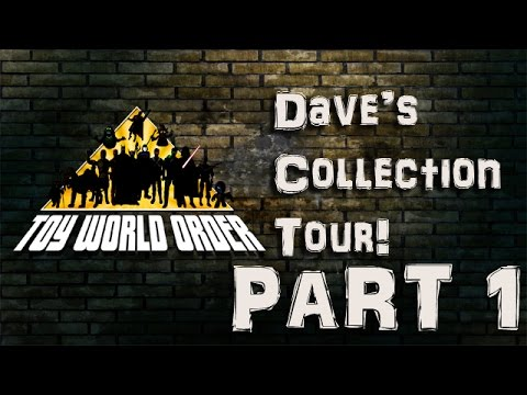 Dave Draper's Toy Collection Walk-through Part 1!