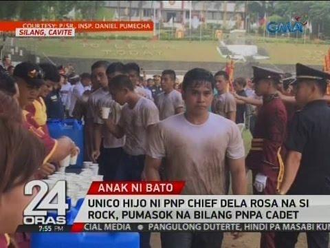 24 Oras: Unico hijo ni PNP Chief Dela Rosa na si Rock, pumasok na bilang PNPA cadet