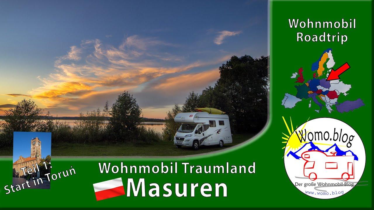 Masuren - Mit dem Wohnmobil nach Polen