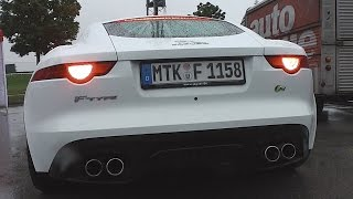 Jaguar f-type r v8 coupé | exhaust sound
