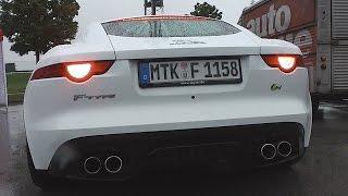 Jaguar f-type r v8 coupé | exhaust sound