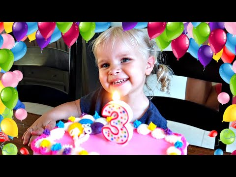 Janae's 3 Year Old Birthday Special