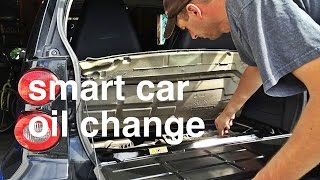Smart Car Oil Change - First Time Off Warranty