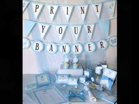 creative diy baby boy shower decorating ideas youtube