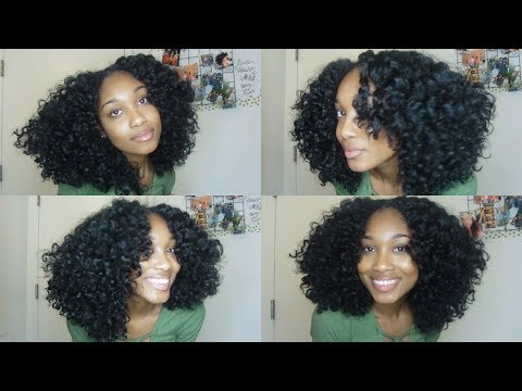 Easiest Braid Out (For All Textures)  + 3 Styles in 1