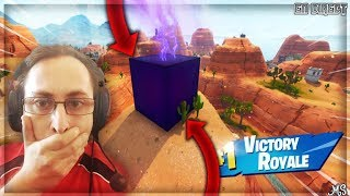ON DECOUVRE IL SEGRETARIO DI CUBE ON FORTNITE 556 WINS