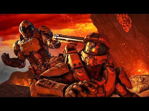 Could Master Chief Survive In Doom's Hell? - Halo Meets Doom