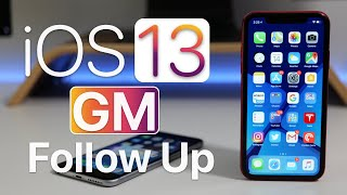 iOS 13 GM - Follow Up