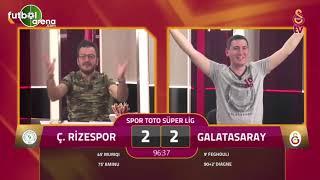 Galibiyeti getiren golde GS TV Spikerleri Rizespor 2-3 Galatasaray 11 Mayıs 2019