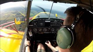 Glider Towing - Tow Plane Cockpit