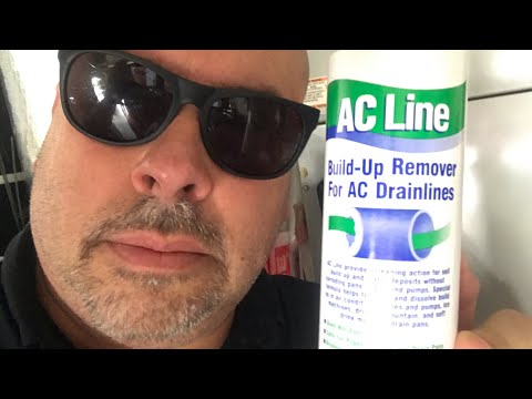 FIX AC Drain Line Clogging!!! FiX To Prevent AC Drain Line Clogging!