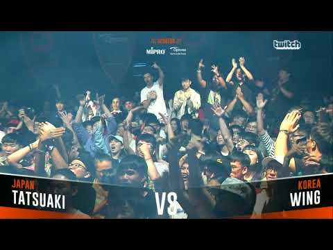 TATSUAKI VS WING & Ending|Asia Beatbox Championship 2018  Final  Solo Beatbox Battle