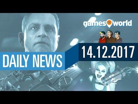 Crytek verklagt Star Citizen, PUBG und Injustice 2 gratis | Gamesworld Daily News - 14.12.2017