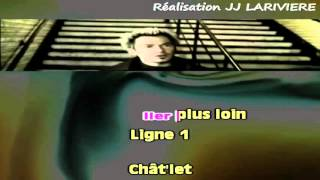 FLORENT PAGNY   CHATELET LES HALLES I G JJ Karaoké - Paroles