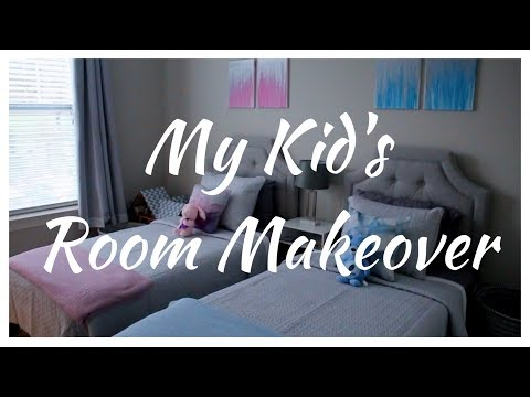 MY KID'S ROOM MAKEOVER BOY / GIRL SHARED ROOM