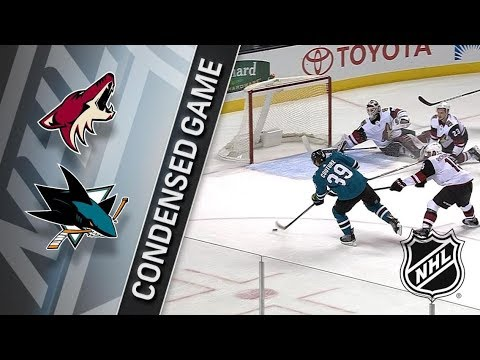 Arizona Coyotes vs San Jose Sharks – Jan. 13, 2018 | Game Highlights | NHL 2017/18. Обзор матча