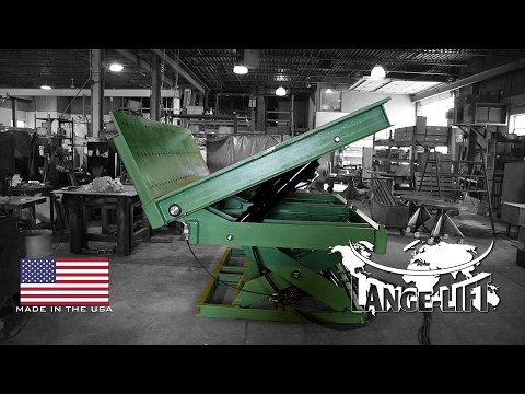 Scissor Lift & Tilt with Tooling Mounts | 40,000 Pound Capacity