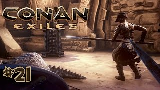 CONAN EXILES #21 • MEGA Loot in der Höhle • Gameplay German • Deutsch
