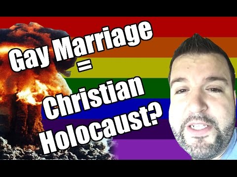 Gay Marriage = Christian Holocaust?