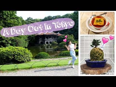 A DAY IN MY LIFE IN TOKYO! Supermarkets, picnic, vegan cafe, tiny trees and more!