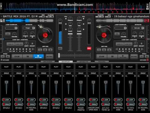 BATTLE MIX 2016 FT DJ MOLMOL PAVIA