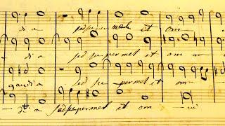 """Jesu Dulcis Memoria"" (Vittoria) Sung from the Original Manuscript"