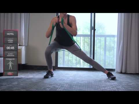 TheraBand CLX 20-Minute Hotel Workout