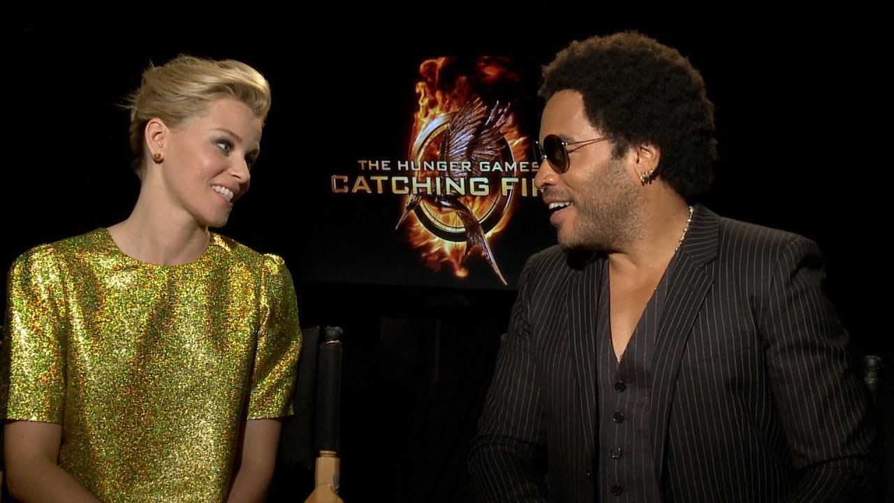 Elizabeth Banks and Lenny Kravitz talk to TODAY about The Hunger Games: Catching Fire