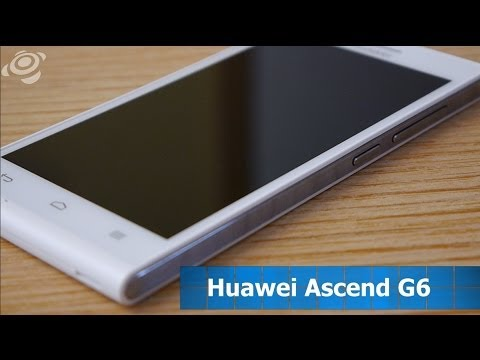 Im Hands-On-Test: Huawei Ascend G6 [DE]