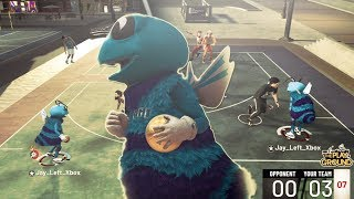 DUAL TAKEOVER + MASCOT with a Playmaking ShotCreator😱...Best Guard BUILD on nba 2k19!