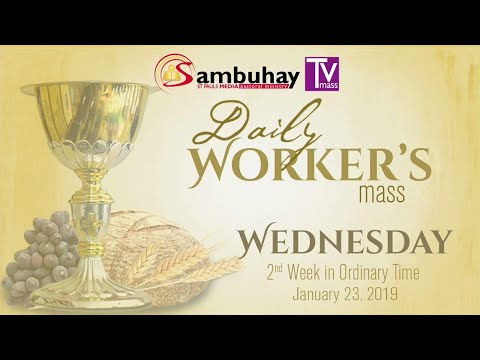 Sambuhay TV Mass | January 23, 2019