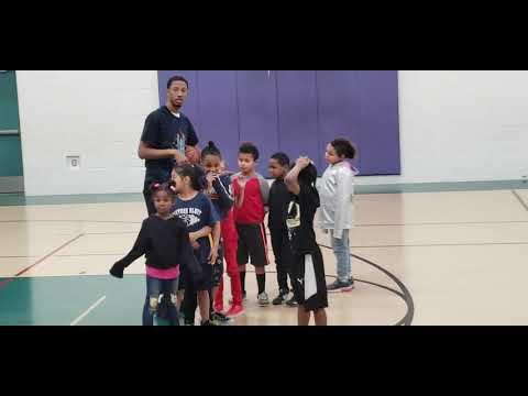 3rd basketball practice for Little Man Daytons Bluff Elementary School