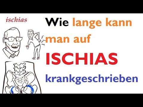 ischiasschmerzen symptome medikamente