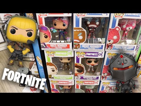 Fortnite Funko Pop Hunting | Completing My Set!