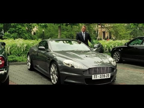 Video Casino royale aston martin scene