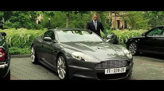 Casino Royale (2006) - L'Aston Martin DBS de James Bond (HD)