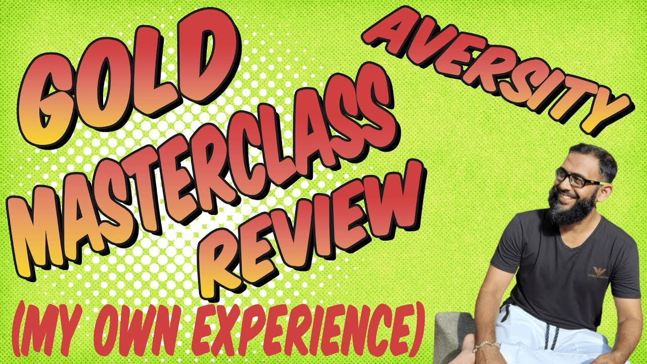 Aversity Gold Masterclass - All In One Online Business Program - Review