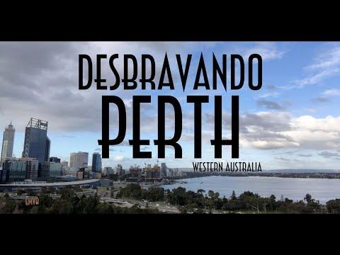 Desbravando Perth Em Western Australia - EMVB - Emerson Martins Video Blog 2018