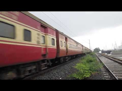 RTM WDM 2A #17728# As the Power of 09419 Mangalore Ahmedabad AC Special