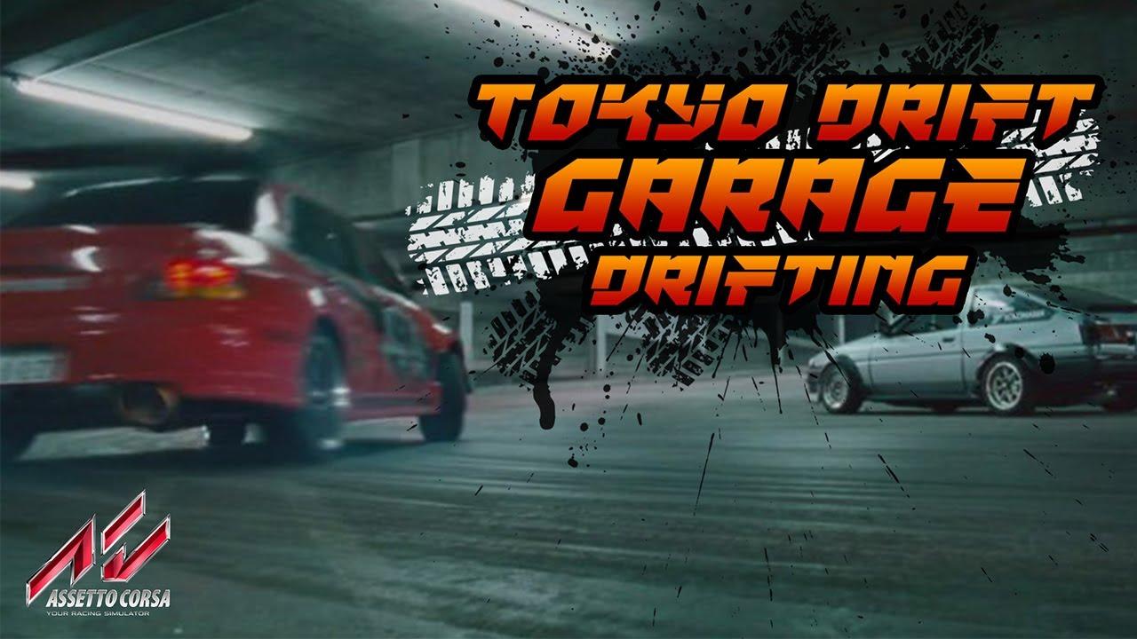 Tokyo Drift Garage Drifting! | Asseto Corsa  |  Gaming boy #7 /w @czechdriftboy