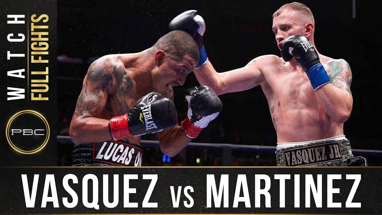 Vasquez vs Martinez FULL FIGHT: January 23, 2016 - PBC on FOX