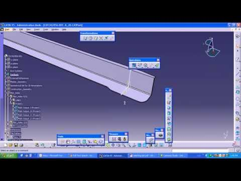 CATIA V5 - Electrical Wire Harness Flattening (HFX)   Doovi