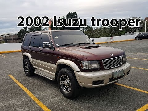 """2002 isuzu trooper """"arnold"""" 3.0 diesel full vehicle tour/review (for sale)"""