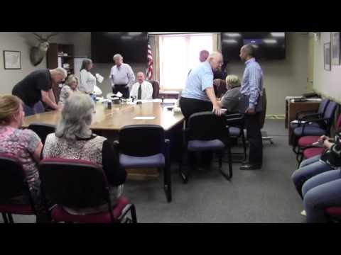MIneral County Mt Board of Commissioners August 26, 2016, Part 3 of 3