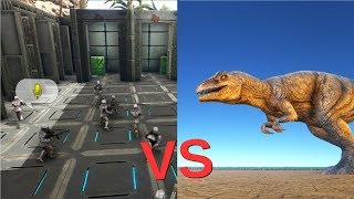 Ark survival evolved is this the new way to create dinosaurs 10 players vs giganotosaurus cantex ark server event ark survival evolved malvernweather Choice Image