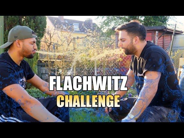 FLACHWITZ CHALLENGE !! (Wasserschlacht)